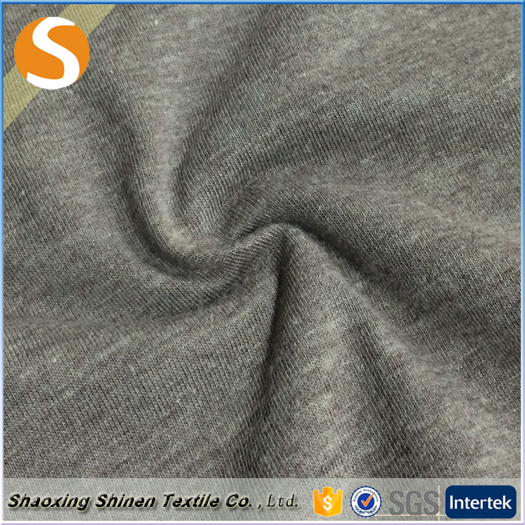 Free sample well-design plain dyed 50%polyester 50%cotton jersey fabric for dress