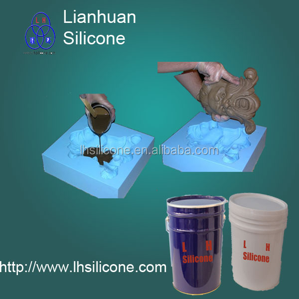 Silastic RTV <strong>silicones</strong> for cement artificial stone mold& art Sculpture& art casting