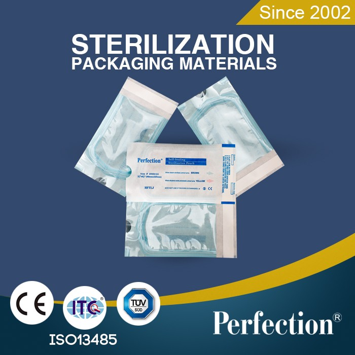 packaging bags autoclave self sealing sterilization pouches for hospital and dental