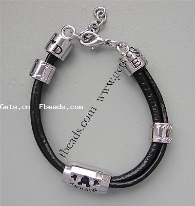 Cowhide Other Shape Spanish Leather Bracelets