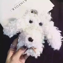 Cute 3D Teddy Dog Toys Plush Back Cover,Cell Phone Case For iPhone6 6Plus