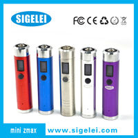 2014 new ecig mod mini vv ecig mod sigelei zmax mini stainless steel zmax mini review