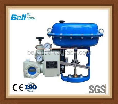 linear turn pneumatic valve actuator for control valve