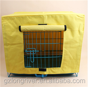 Cute/Durable Pet Dog Cage Cover Waterproof Oxford Puppy Crate Cover