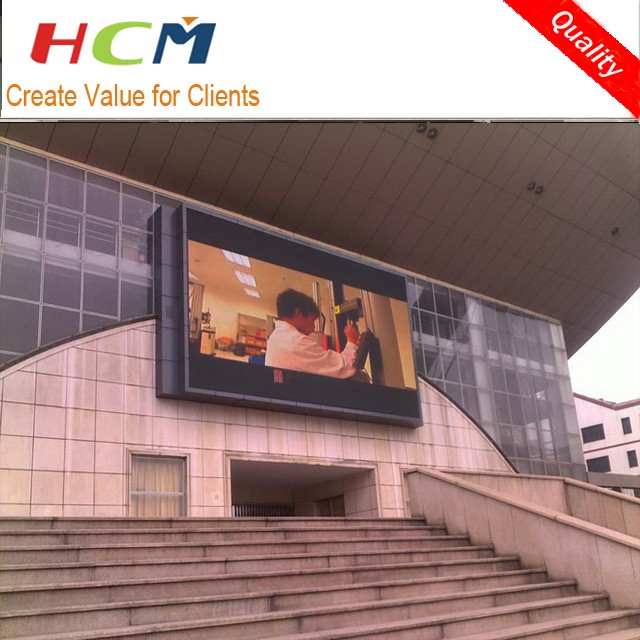 P10 outdoor usage led video wall for advertising/p6 stage rental led display screen