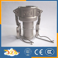 stainless steel quick couping with cylindrical heads TYPE C