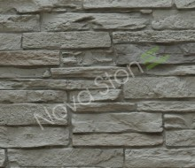 Faux imitation wall stone siding panel
