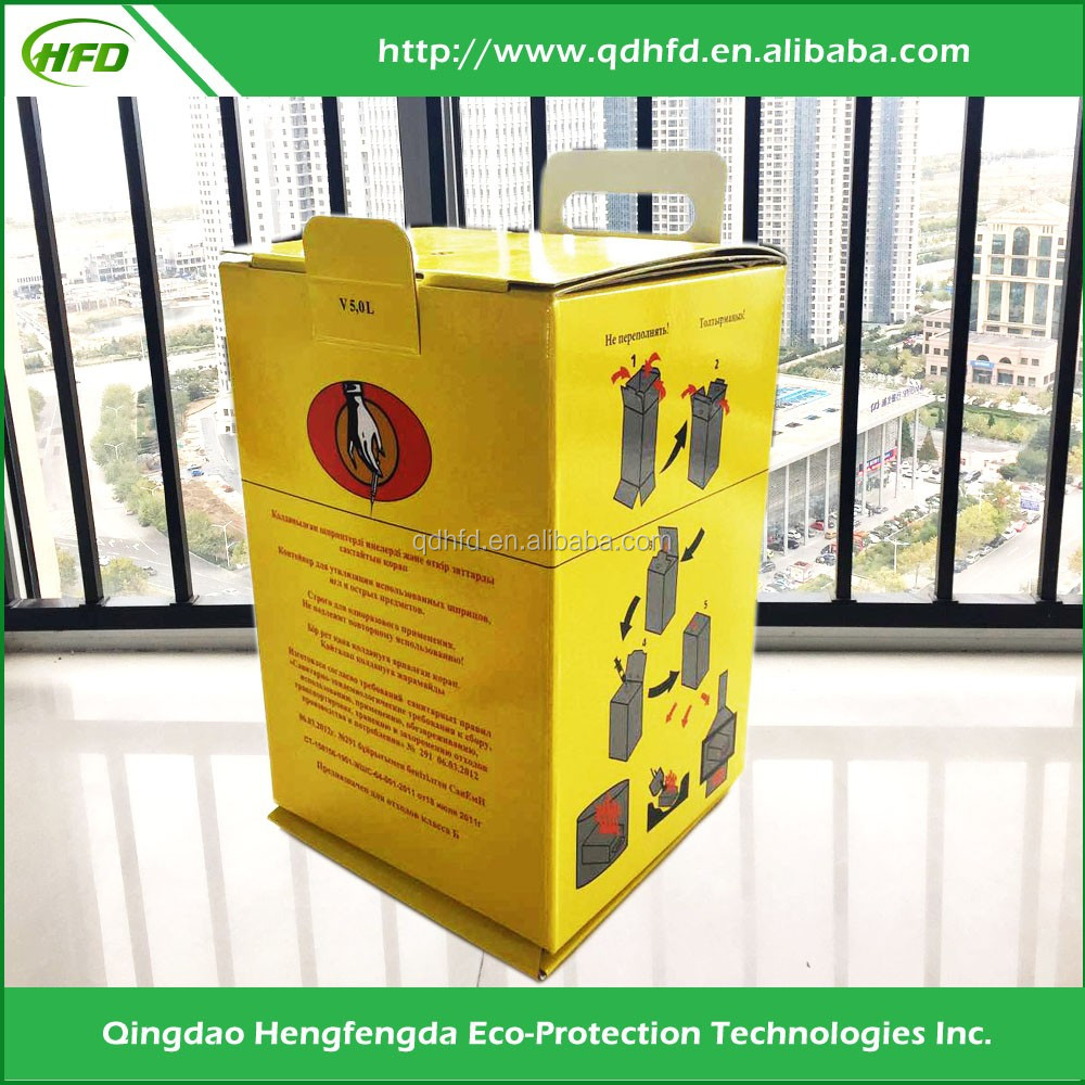 medical office waste bins/Sharps collectors