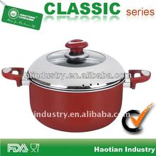 aluminum dutch oven with branded non stick coating
