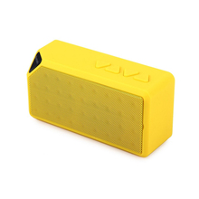 Bluetooth Speaker Cube X3 Bluetooth Mini Wireless Speaker Multimedia Speaker 2.1
