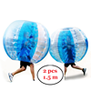 PVC Human Hamster Ball Inflatable 5 FT Bubble Soccer Ball Suit 2 Pack Bumper Ball Set for Adults and Kids