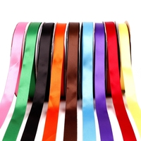 Factory wholesale low price printed single face satin ribbon factory in china