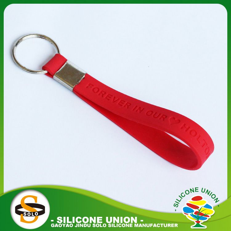 cheap silicone key chain custom china shape silicone keychain pendant