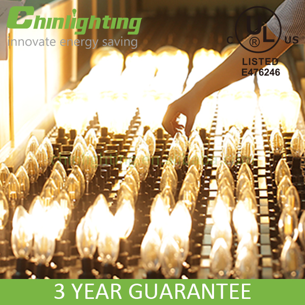 Vintage style CA32 CA10 110v led replacement 50w candle light led