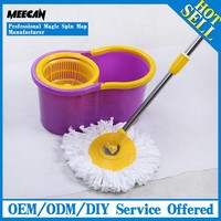 Household Magic Spin Mop With Plastic Rotating Mop Head And Stainless Steel Magic Mop Pole Online Shop China