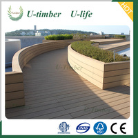 Hot Sale Waterproof Composite Decking Plastic Wood for Swmiming Pool Application