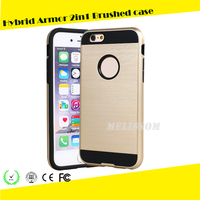 2016 Fashion Design Phone 6/6s Case Hybrid Armor Brushed For Phone Case for iphone 6/ 6 plus