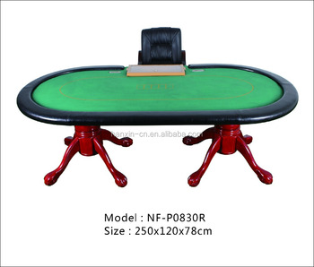 Garra de tigre Perna Texas hold'em poker table