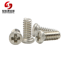 M1.0 M1.2 M1.4 M1.6 M1.8 Stainless Steel 304 A2 Corss Recessed Phillips Micro Small Screws