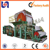 787mm small model toilet tissue paper making machine On Sale ! Product with top quality and good performance !