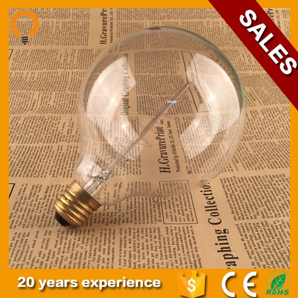 G95 6W E27Edison Style Light Energy Saving LED Bulb