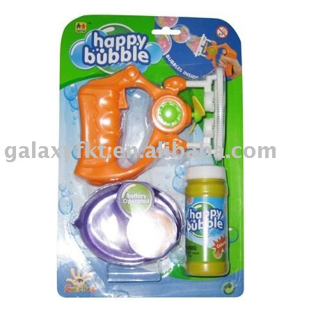 14CM B/O bubble gun shooter