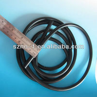 Eco-friendly Flexible Customized Black FDA Medica expandable pharmaceutical silicone tube