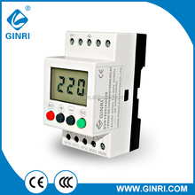 GINRI NEW ITEM SVR1000/AD220 Over/Under Voltage Monitoring Relays 1 Phase LCD Voltage Protective Relay 110-240VAC/DC