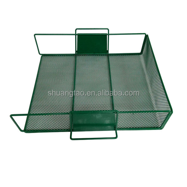 Professional metal document holder, mesh wall file holder, mesh desk organizer for Office Supplies
