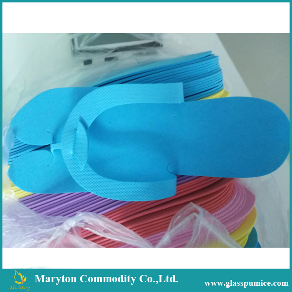Colorful Fold Type Disposable EVA Slipper