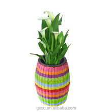 wholesale standing handmade plastic planter for home and garden