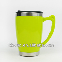 China Products Stainless Steel Inner Plastic Tumbler