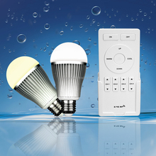 2.4G 9w led bulb RF Wireless Dual white led bulb light series wifi control high power 9w led bulb light