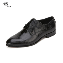 Cow leather black color class cool man formal shoes