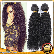 7A Grade Hair Brazilian Unprocessed Human Hair Afro Kinky Curly Virgin Hair weaves 8 to 30 inches in stocks
