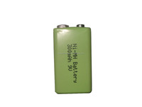 Hot Sale 9V Battery / 300mAh 9V Battery / Rechargeable 9V Battery