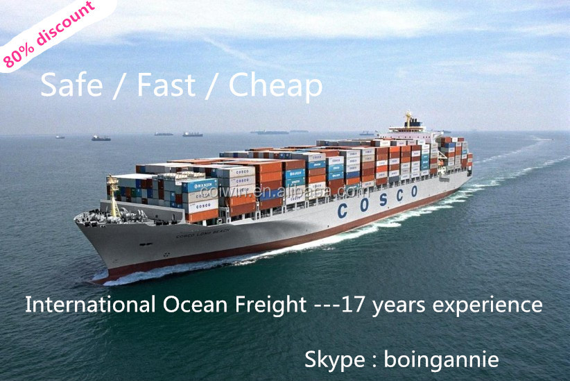 USD 1/CBM Shipping rate list to USA/Europe/Canada/Australia/Asia from Shanghai/Ningbo/Shenzhen/China for many years - annie