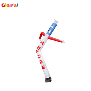 One Leg Inflatable Air Tube Dancer Sky Air Man For Wholesales Prices