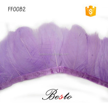 2016 hot sale top plumage fringe dyed feather for decoration earrings