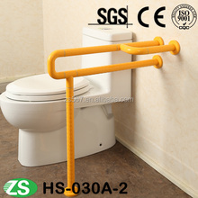 Free Inspection Toilet Disabled Grab Bars with Nylon Surface