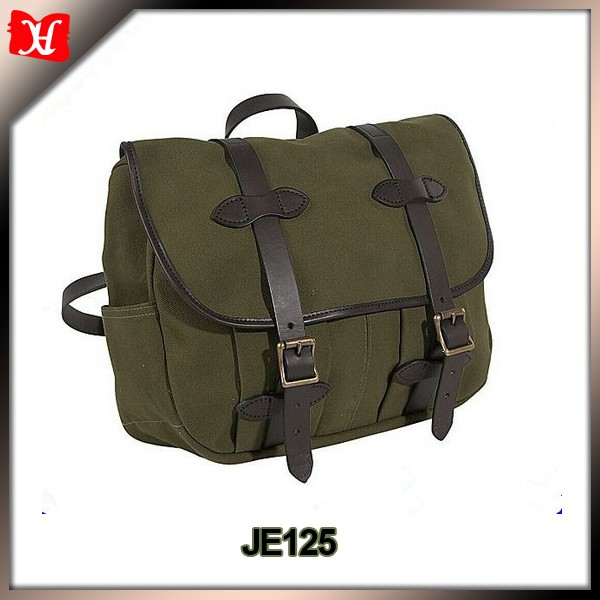 China alibaba wholesale Multifunctional name branded canvas backpack messenger bags