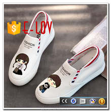 Drop shipping high heels shoe no lace casual loafers for women