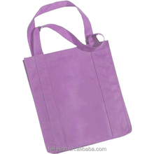 Full color printed purple ladies tote bags Wholesale