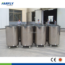 Shanghai FARFLY stainless steel tank with wheels