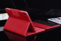 Ultra-Thin Bluetooth Keyboard Case Cover with Built-in Stand Groove for Apple iPad mini
