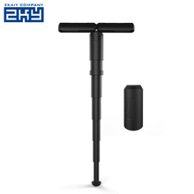 Lightweight Outdoor Portable Stand-up Travel Seat Mini Telescopic Plastic Folding Stool