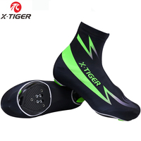 X-TIGER Reflective Dust-Proof Cycling Shoe Cover Cubre Zapatillas Ciclismo Men Mtb Road Bike Shoe Cover MTB Bicycle Shoe Cover