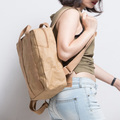 korean fashion Washable Kraft Paper Backpack Female Fashion Ladies Student Bag Backpack