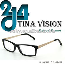 China Brand 2014 Fashion Eyewear Cheap New Model Optical Frame (1402013)
