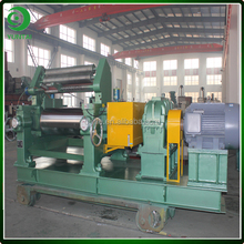 Dalian cheap price single shaft driving bearing rolls rubber open mixing mill machine